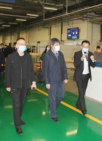 Wang Zhaoli, member of the Standing Committee of the Provincial Party Committee and Secretary of the Municipal Party Committee, and his entourage visited Sayyas