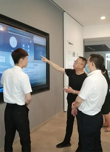 Li Sichuan, Secretary-General of the Standing Committee of the Municipal People's Congress, investigated Sayyas Window Industry and highly praised Sayyas's plan